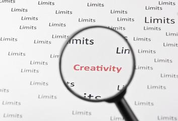 Begrenzung - Kreativität