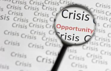 Krise - Möglichkeit