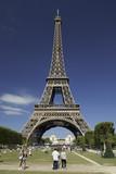 Fototapeta Eiffel Tower - Wieża Eiffla © M.Dalach