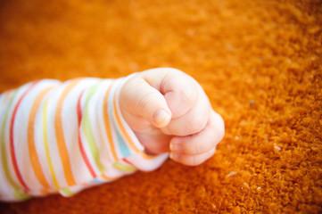 Little fingers.