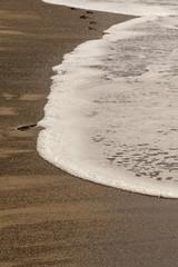 Spuren am Meer