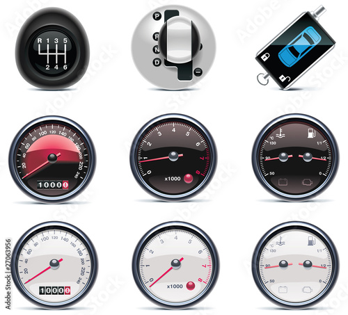 Car service icons. Part 4