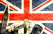 Leinwandbild Motiv drapeau anglais