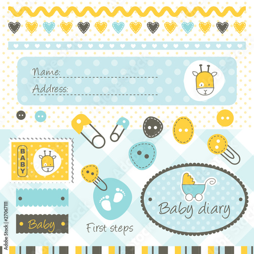 Scrapbook elements