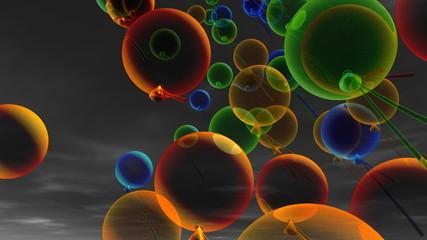 праздник воздушные шары