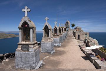 Copacabana vue sur le lac Titicaca
