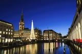 Christmas illuminations - Hamburg, Germany