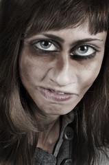 elbarozione grafica di donna mostruosa