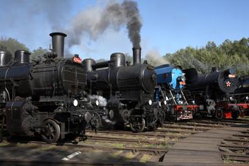 Railway Museum, Luzna u Rakovnika, Czech Republic