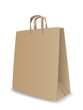 Vector illustration of paper bag