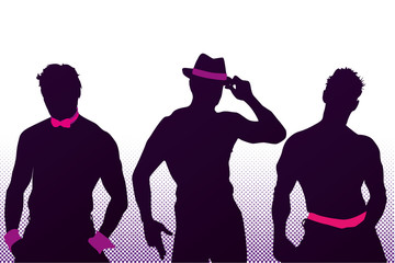 Vector Chippendales