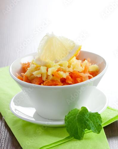 Möhren-Ingwer-Salat
