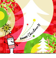 cartoon & greeting card - Christmas