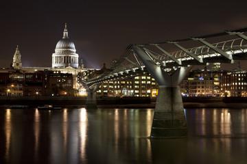 St. Paul's and the Millennium Bridge