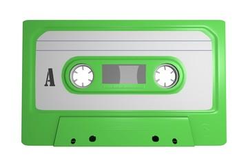 Tape Leer Cassette Freisteller Grün