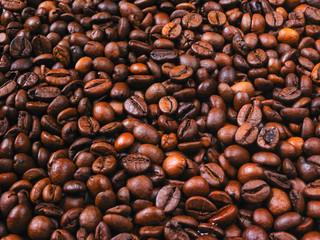 фон с зернами кофе