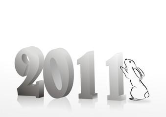 New 2011 year card.