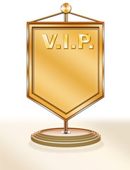 VIP Tischvimpel