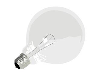 lampadina spenta