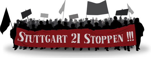 Stuttgart 21 Demo