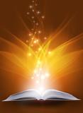 Fototapete Bücher - Licht - Buch