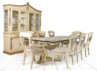 Mesa comedor estilo clasico