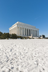 Lincoln memorial at The Mall