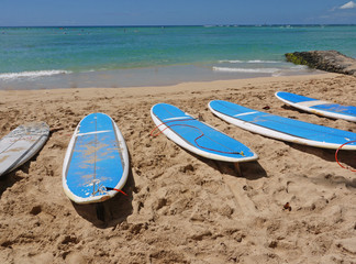 Surfboards Waikiki
