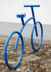 Fahrradparkplatz h.