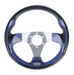 Steering wheel isolated on withe background