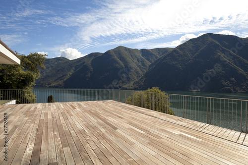 Leinwanddruck Bild nice terrace