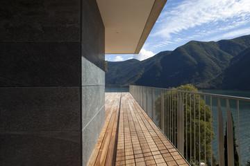 terrazza esterna, design moderno