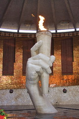 a monument is an eternal fire, city Volgograd, Russia