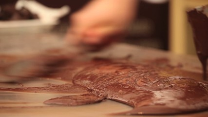 Preparazione del cioccolato
