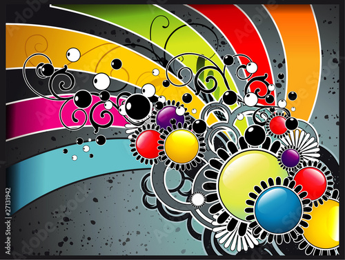 color vector abstract illustration