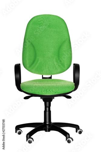 Sedia Ufficio Verde Di Tommypic Foto Stock Royalty Free