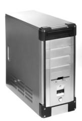 gray computer case