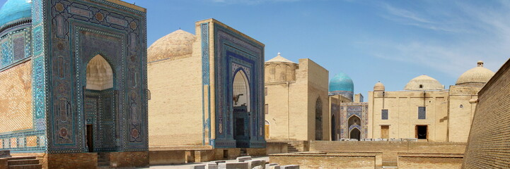 necropolis in samarkand