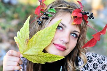 face of autumn