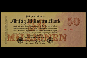 50 Mio Mark 1923