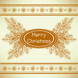 marry christmas vintage greeting card