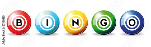 bingo balls - 27140510