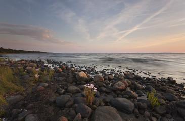 Ocean scene. Southern of Sweden.