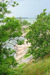 Beautiful landscape of Baltic sea