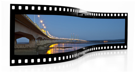 Second Severn Crossing film strip