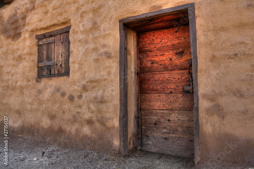 Adobe and Wood