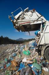Dumping truck