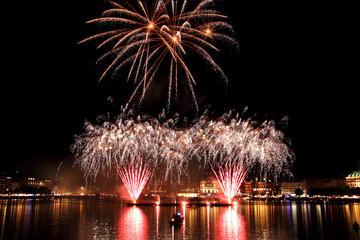 Feuerwerk Alstervergnügen Hamburg 2010