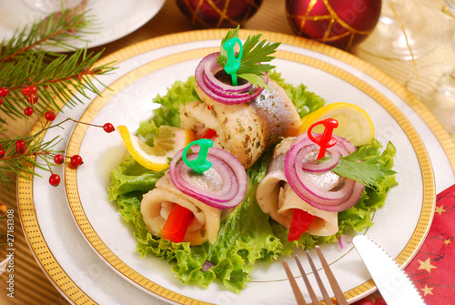 herring rollmops for christmas
