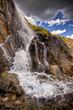 Leinwandbild Motiv Mountain Waterfall